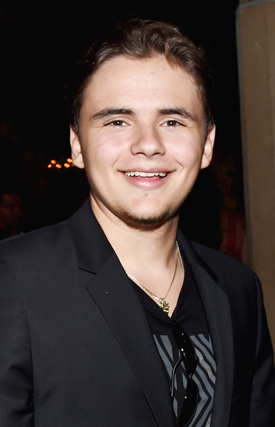 """HOLLYWOOD, CA - JUNE 17: Prince Jackson attends Premiere Of HBO's """"True Blood"""" Season 7 And Final Season After Party on June 17, 2014 in Hollywood, California.   Michael Buckner/Getty Images/AFP"""