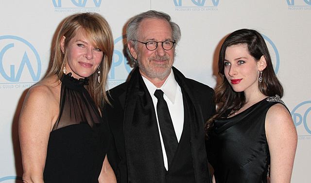 Sasha Spielberg Steven Spielberg Kate Capshaw