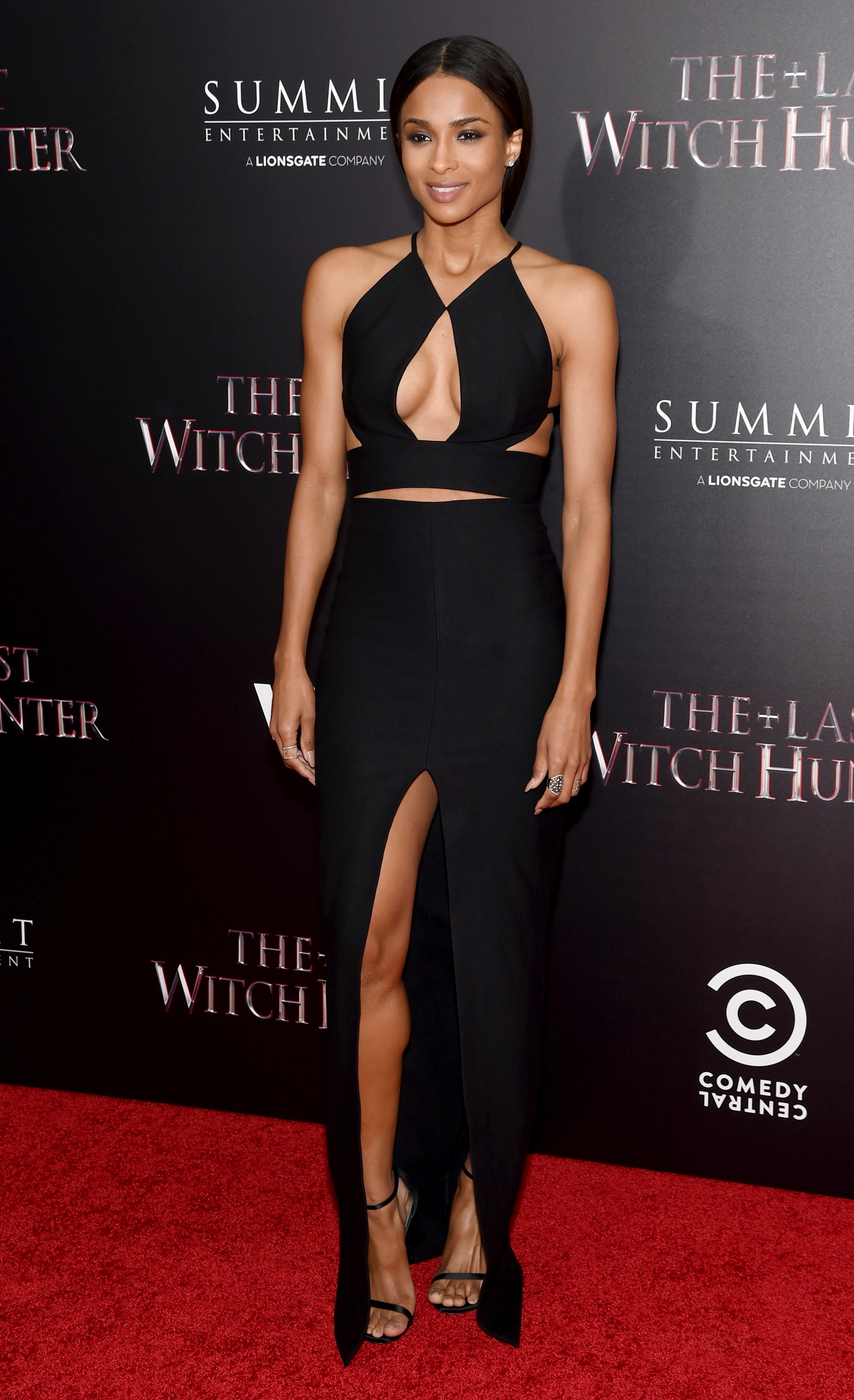 "NEW YORK, NY - OCTOBER 13: Singer Ciara attends the New York premiere of ""The Last Witch Hunter"" at AMC Loews Lincoln Square on October 13, 2015 in New York City.   Jamie McCarthy/Getty Images/AFP"
