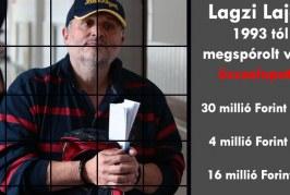 Lagzi Lajcsi lopás számla: 30 millió áram, 4 millió gáz, 16 millió víz